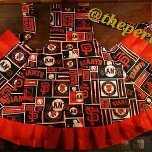 Other - COPY - Lady's SF giants handcrafted apron